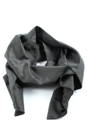 Zero Châle au tricot noir style décontracté
