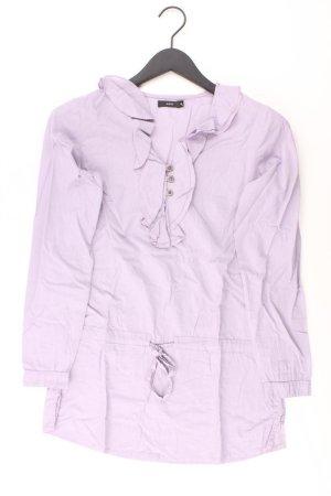 Zero Shirt Größe 34 lila aus Baumwolle
