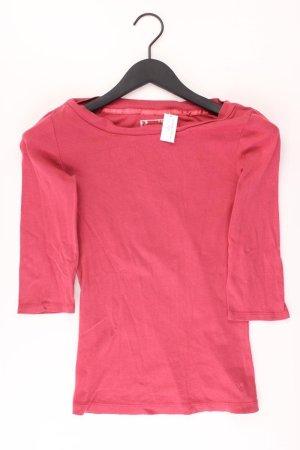 Zero Shirt Größe 36 3/4 Ärmel rot aus Baumwolle