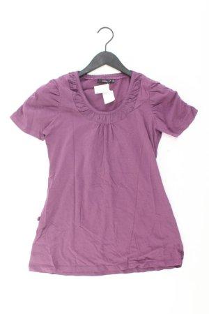 Zero Shirt Größe 38 lila aus Baumwolle