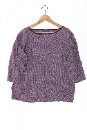 Zero Shirt Größe 44 lila aus Viskose