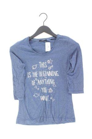 Zero Shirt Größe S 3/4 Ärmel blau