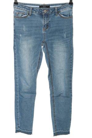 Zero Skinny Jeans blau Casual-Look