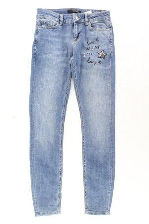 Zero Skinny Jeans blue-neon blue-dark blue-azure cotton