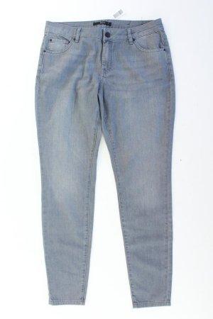 Zero Skinny Jeans Größe 44/L32 grau aus Baumwolle