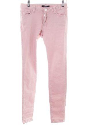 Zero Jeans skinny rosa stile casual