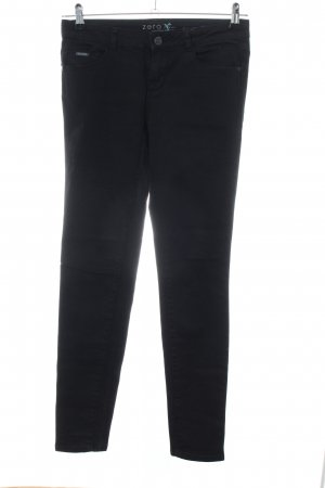 Zero Slim Jeans schwarz Business-Look