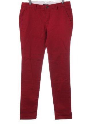 Zero Slim Jeans dunkelrot Casual-Look