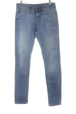 Zero Slim Jeans mehrfarbig Biker-Look
