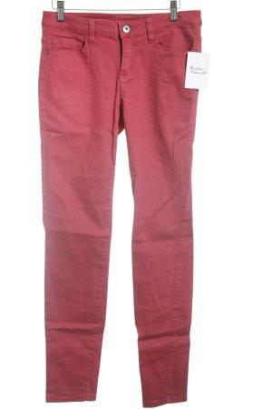 Zero Slim Jeans ziegelrot Casual-Look