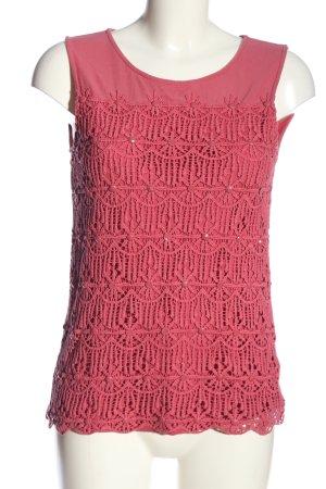 Zero Spitzenbluse pink Casual-Look