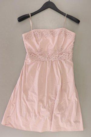 Zero Spitzenkleid Größe 36 Träger rosa aus Baumwolle