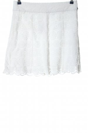 Zero Lace Skirt white casual look