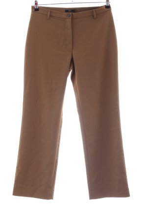 Zero Stoffhose bronzefarben Business-Look