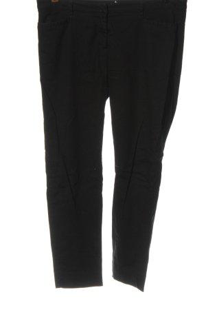 Zero Pantalón tipo suéter negro estilo clásico