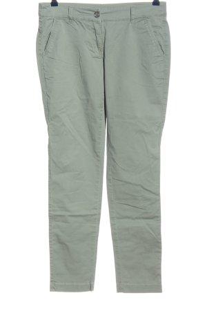 Zero Pantalon en jersey kaki style décontracté