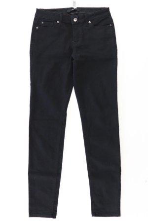 Zero Jeansy z prostymi nogawkami czarny Bawełna