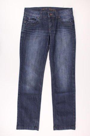 Zero Straight Leg Jeans blue-neon blue-dark blue-azure cotton