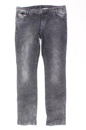 Zero Jeans coupe-droite noir