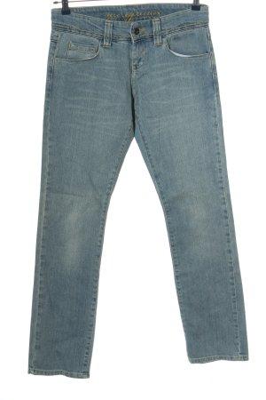Zero Jeansy z prostymi nogawkami niebieski W stylu casual