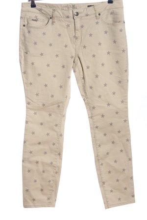 Zero Jeansy z prostymi nogawkami w kolorze białej wełny-jasnoszary