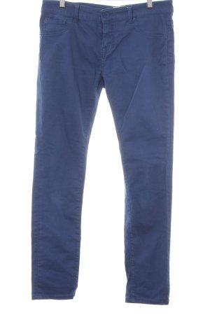 Zero Straight-Leg Jeans blau schlichter Stil