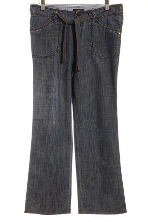 Zero Straight-Leg Jeans kornblumenblau Casual-Look