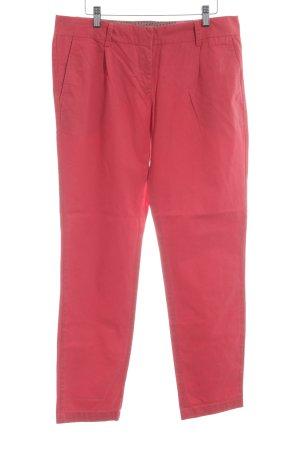 Zero Jeansy z prostymi nogawkami czerwony W stylu casual