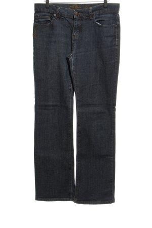 Zero Straight-Leg Jeans stahlblau 90ies-Stil