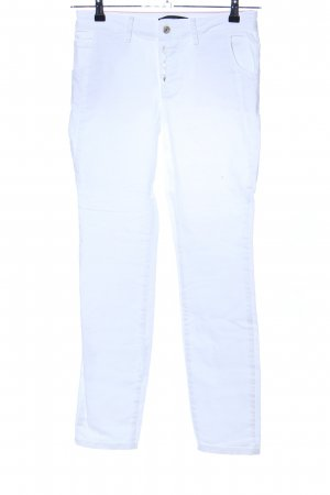 Zero Straight-Leg Jeans weiß Casual-Look