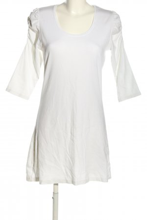 Zero Robe stretch blanc style décontracté