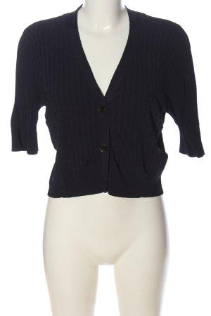 Zero Cardigan tricotés noir style décontracté