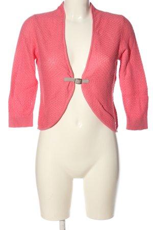 Zero Strick Cardigan pink Casual-Look