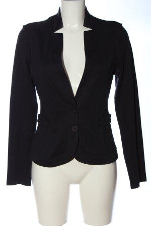 Zero Blazer tejido negro estilo «business»