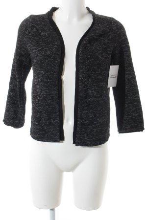 Zero Blazer in maglia bianco-nero stile casual