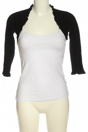 Zero Knitted Bolero black casual look