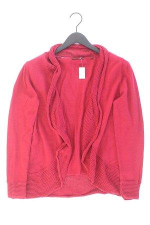 Zero Strickjacke Größe 44 Langarm rot aus Baumwolle