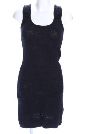 Zero Strickkleid blau Casual-Look