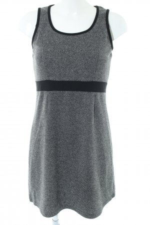 Zero Strickkleid hellgrau meliert Casual-Look