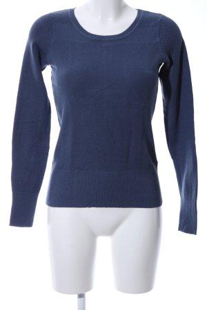 Zero Strickpullover blau Casual-Look