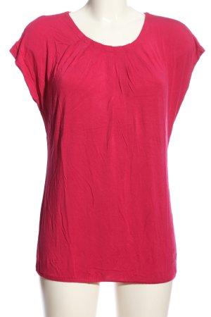 Zero T-shirts en mailles tricotées rose style décontracté