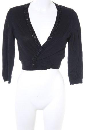 Zero Strickweste schwarz Elegant