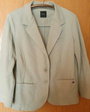 Zero Blazer in jersey verde-menta