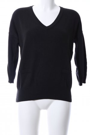 Zero Sweatshirt schwarz Casual-Look