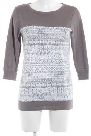 Zero Sweatshirt graubraun-wollweiß Casual-Look