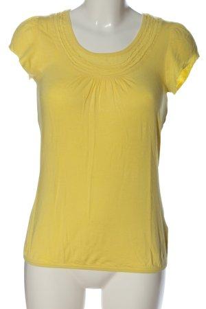Zero T-Shirt blassgelb Casual-Look