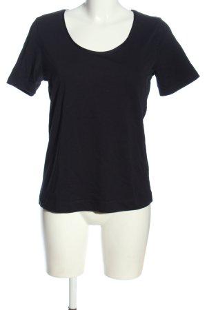 Zero T-Shirt schwarz Casual-Look