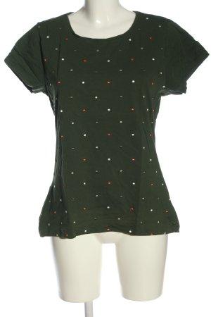 Zero T-Shirt Allover-Druck Casual-Look
