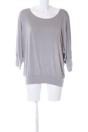 Zero T-Shirt hellgrau Allover-Druck Casual-Look