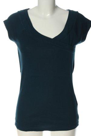 Zero T-shirt bleu style décontracté